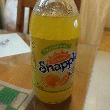 Photo of Snapple® Orangeade 16 fl. oz. Glass Bottle uploaded by Ayame S.