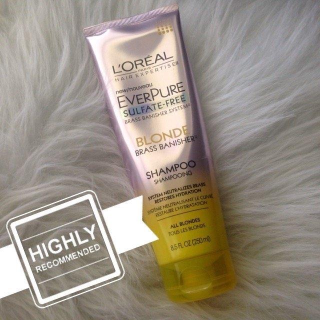 L'Oréal® Paris Hair Expertise™ EverPure Sulfate-Free Blonde Brass Banisher™ Shampoo 8.5 fl. oz. Tube uploaded by Jennifer J.