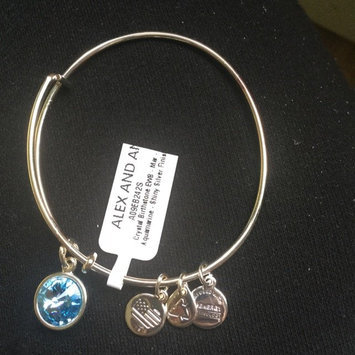 Photo of March Birthstone Charm Bangle uploaded by Emilia K.