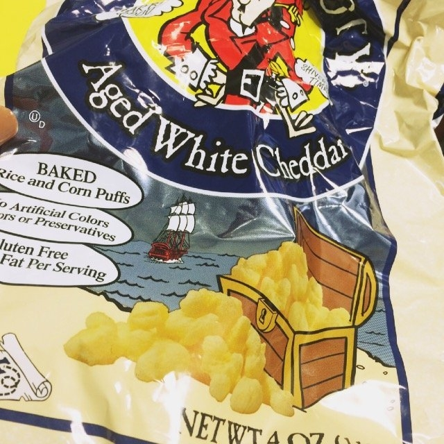 Pirate's Booty® Aged White Cheddar Rice and Corn Puffs uploaded by Shishandra D.