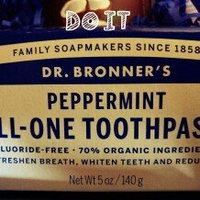 Toothpaste Peppermint Dr. Bronner's 5 oz Paste uploaded by Adedayo M.
