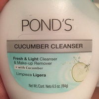 Pond's® Fresh & Light Cucumber Cleanser & Make-up Remover 6.5 oz. Jar uploaded by Karina R.