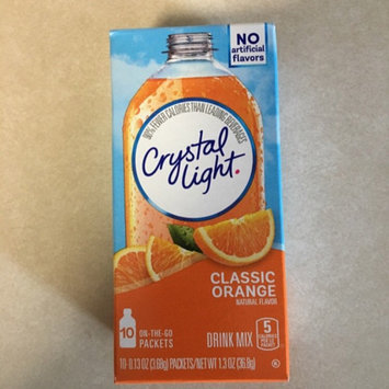 Photo of Crystal Light Classic Orange On the Go Drink Mix uploaded by Joan V.
