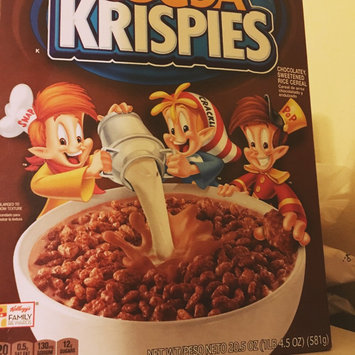 Photo of Kellogg's Cocoa Krispies Cereal uploaded by Nelly l.