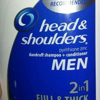 Head & Shoulders Men 2-in-1 Dandruff Shampoo + Conditioner Full & Thick uploaded by Paula G.