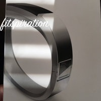 Fitbit 'Alta' Stainless Steel Fitness Tracker Accessory Bangle Band - Metallic uploaded by Lauren G.