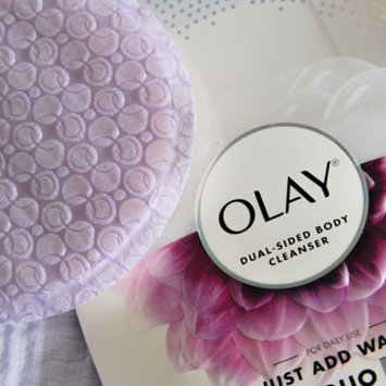 Photo of Olay DUO Soothing Orchid & Black Currant Body Cleansing Buffer uploaded by Stephanie G.