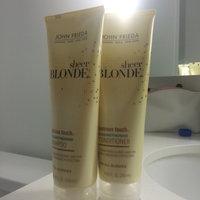 John Frieda Sheer Blonde Lustrous Touch Strengthening Shampoo uploaded by Jac G.