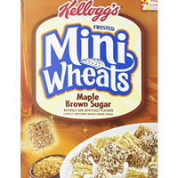 Kellogg's Frosted Mini-Wheats Maple Brown Sugar Cereal uploaded by charlene W.