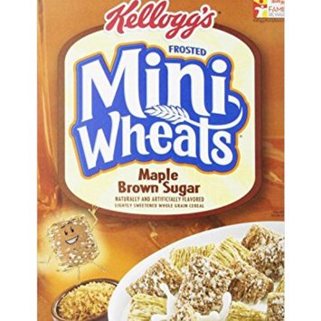 Photo of Kellogg's Frosted Mini-Wheats Maple Brown Sugar Cereal uploaded by charlene W.