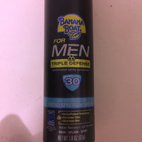 Banana Boat Triple Defense Sunscreen Spray For Men With SPF 30 uploaded by Jaz T.