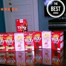 Photo of Glico Almond Crush Pocky Chocolate Covered Biscuit Sticks uploaded by Tathiana Y.