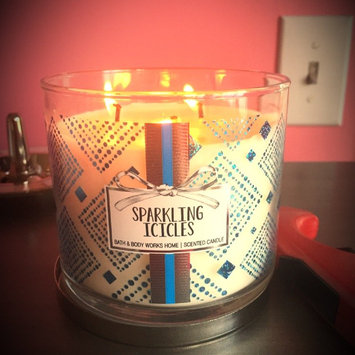 Photo of Bath & Body Works Sparkling Icicles 3 Wick Scented Candle 14.5 Oz./411 G 3 Wick uploaded by Catherine  H.