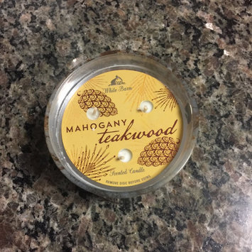 Photo of Bath & Body Works 2014 MAHOGANY TEAKWOOD 3 Wick Scented Candle 14.5 oz./411 g uploaded by Lauren P.