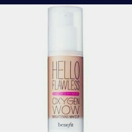 Benefit Cosmetics 'Hello Flawless!' Oxygen Wow Liquid Foundation 'Cheers To Me' Champagne 1 oz uploaded by Maysa G.