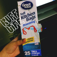 Great Value Tall Drawstring Kitchen Bags, 25 count uploaded by Debbie S.