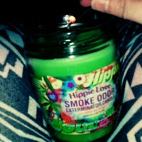 Smoke Odor Exterminator Candle 13oz Jar Candle, Hippie Love [Hippie Love] uploaded by Courtney J.