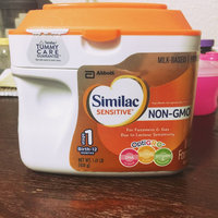 Similac Sensitive® OptiGRO™ Infant Formula with Iron 22.56 oz. Canister uploaded by Keishla F.