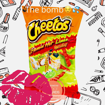 Cheetos Flamin' Hot Crunchy Cheese Flavored Snacks uploaded by Mana A.