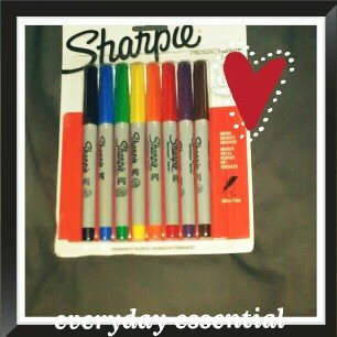 Photo of Sharpie Ultra Fine Point Permanent Markers - 12ct uploaded by Nicole A.