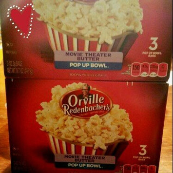 Orville Redenbacher's Movie Theater Butter Popcorn Pop Up Bowl - 3 CT uploaded by MONEKA S.