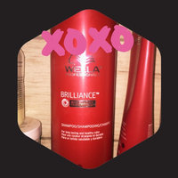 Wella Brilliance Shampoo - Fine to Normal - 33.8 oz. uploaded by Christy D.