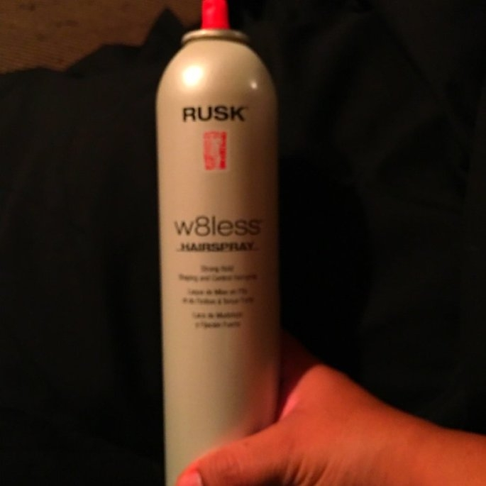 Rusk W8less Strong Hold Shaping and Control Hairspray uploaded by Claudia B.