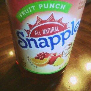 Photo of Snapple Fruit Punch Juice uploaded by Ephasia J.