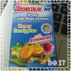 Photo of Broncolin Drops Honey Eucalyptus 1.4 oz - Gotas Miel Y Heucalipto uploaded by J. Juan C.