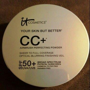 It Cosmetics Your Skin But Better CC+ Airbrush Perfecting Powder SPF50+ uploaded by Kayela J.