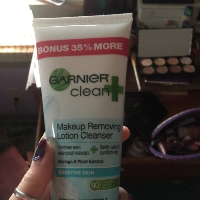 Garnier® Clean+ Sensitive Skin Makeup Removing Lotion Cleanser 5 fl. oz. Bottle uploaded by Sarah J.