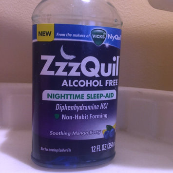 Photo of ZzzQuil™ Soothing Mango Berry Alcohol Free Liquid uploaded by Jennifer P.