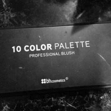 Photo of BH Cosmetics 10 Color Professional Blush Palette uploaded by Emily B.