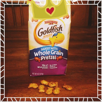 Photo of Goldfish® Baked with Whole Grain Pretzel Baked Snack Crackers uploaded by Sarah B.