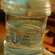 Arrow Plastics H2O on the Go 2.2 Liter Beverage Bottle uploaded by maria a.