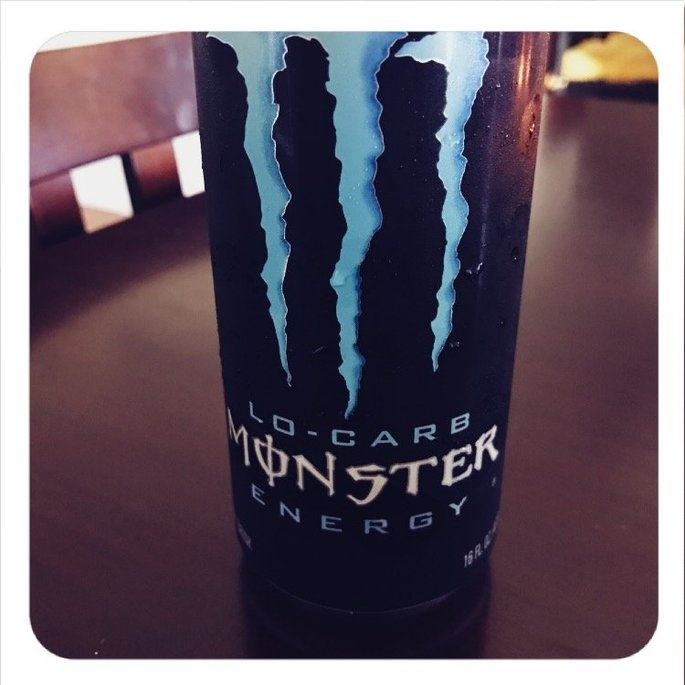 Monster Lo-Carb Energy Drink uploaded by Brittany B.