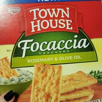Keebler® Town House® Focaccia Rosemary & Olive Oil Crackers 9 oz. Box uploaded by Ashley C.