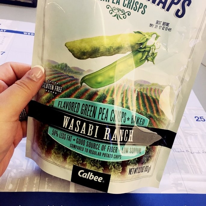 Harvest Snaps Snapea Crisps Lightly Salted uploaded by Jean-A'Layn S.