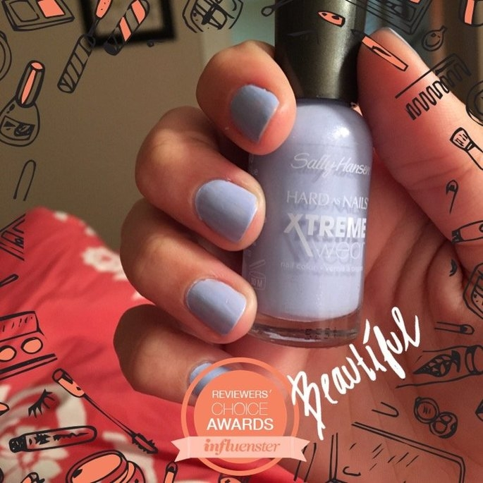 Sally Hansen Hard As Nails Xtreme Wear .4 oz Nail Color in Babe Blue uploaded by Arian F.