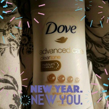 Dove® Clear Tone™ Advanced Care Sheer Touch Antiperspirant Deodorant uploaded by Alyssa D.