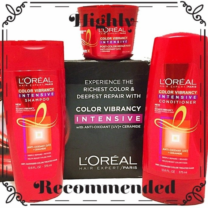 L'Oréal Color Vibrancy Intensive Shampoo uploaded by Sara R.