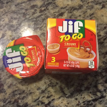 Photo of Jif To Go® Creamy Peanut Butter uploaded by Bernadette W.