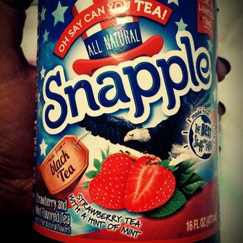 Photo of Snapple Oh Say Can You TEA 16oz Single uploaded by Amanda V.