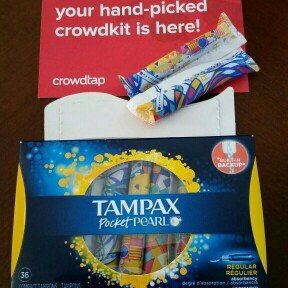 Photo of Tampax Pocket Pearl Regular uploaded by Keshia D.