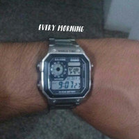 Casio Men's Core AE1200WHD-1AV Digital Stainless-Steel Quartz Watch uploaded by Jose G.