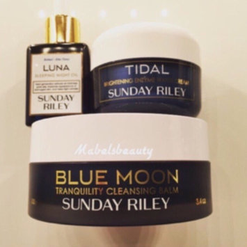 Sunday Riley Blue Moon Tranquility Cleansing Balm uploaded by Mabelsbeauty 😊.