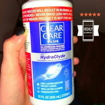 Clear Care Cleaning & Disinfecting Solution uploaded by Corrie S.