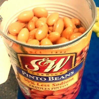 S&W® Premium 50% Less Sodium Pinto Beans 15 oz. Can uploaded by Diana B.
