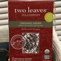 Two Leaves and a Bud Organic Assam Breakfast Black Tea, Tea Bags, 1. uploaded by Alexa R.