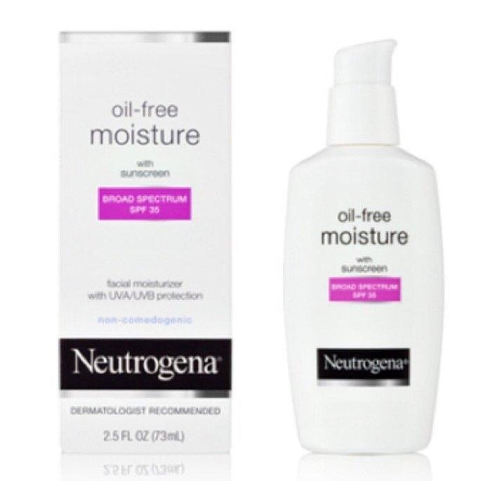 Neutrogena Oil-Free Moisture Facial Moisturizer SPF 35 uploaded by Sarah E.